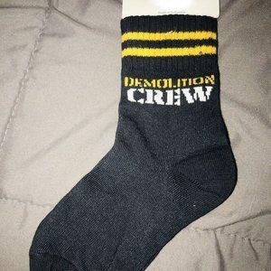 NWT Gymboree demolition crew socks 5 7  or 3t 4t 4